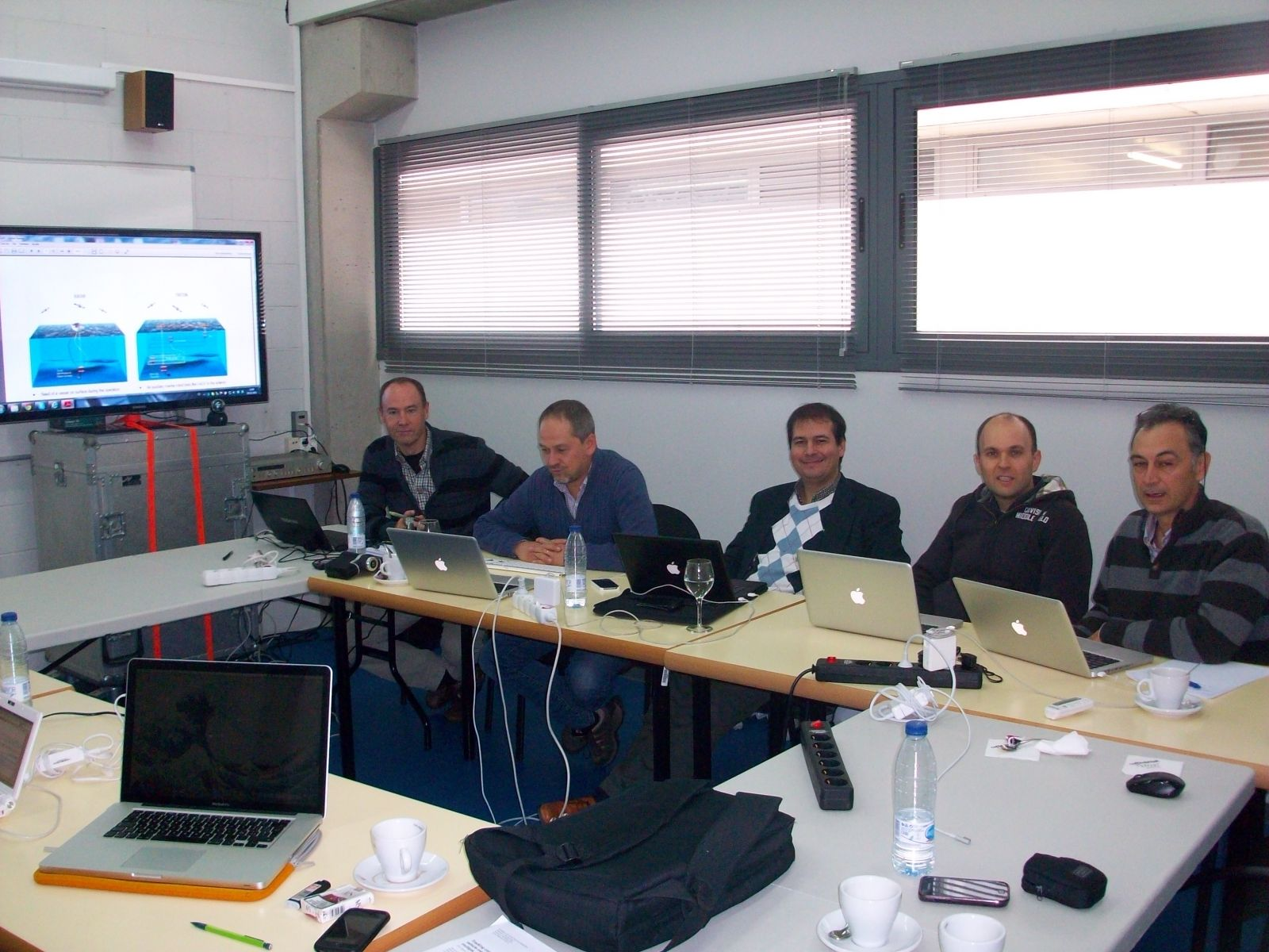 The TRITON consortium during the meeting